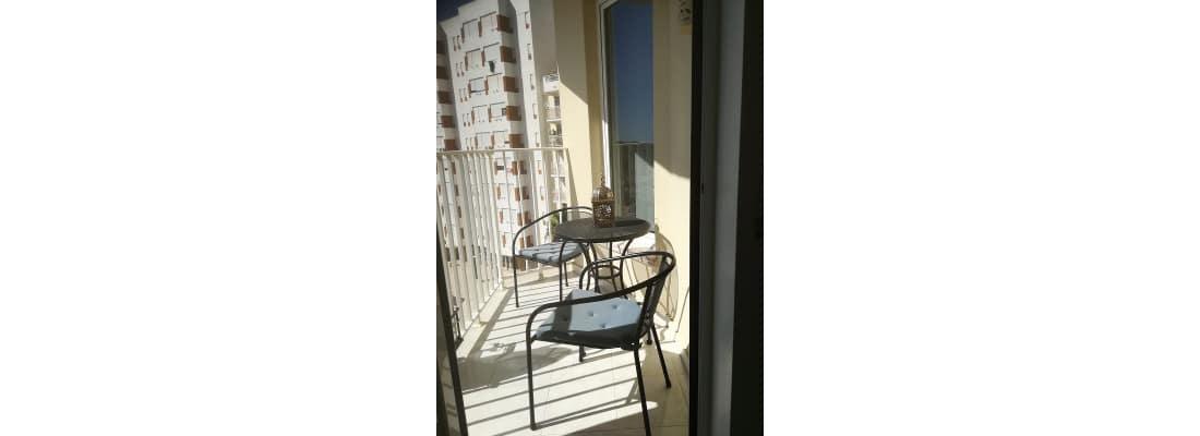 Balkon met vrij zee zicht