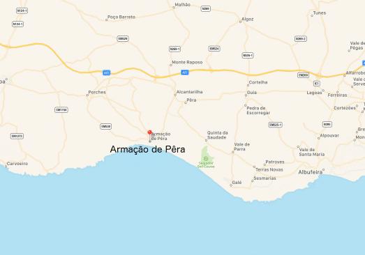 Etagewoning Armacao de Pera